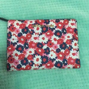 MK Paisley Snap Wallet